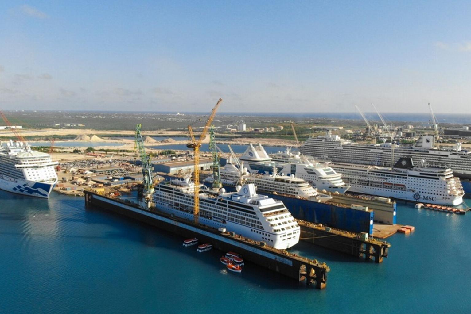 Grand Bahama Shipyard: 25 Cruise Projects Scheduled