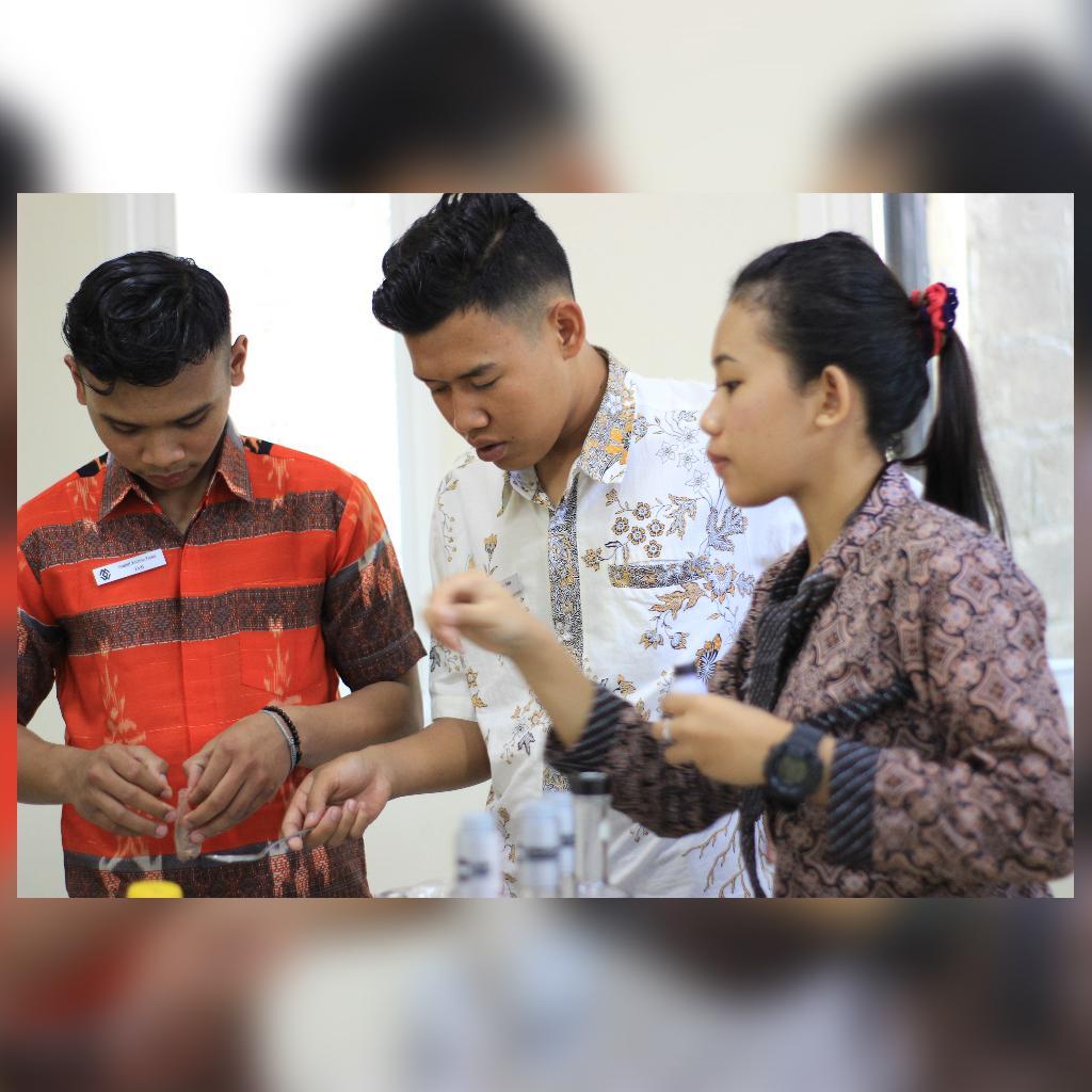 Mr Anggit, Mr Fa'lu & Miss Bella