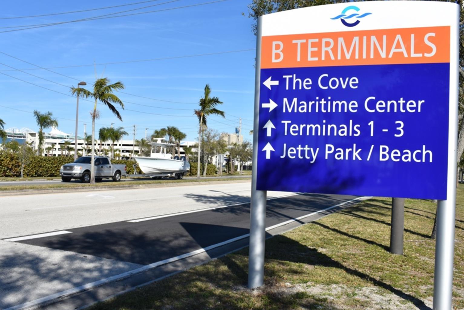 Port Canaveral Roadway Upgrades Underway